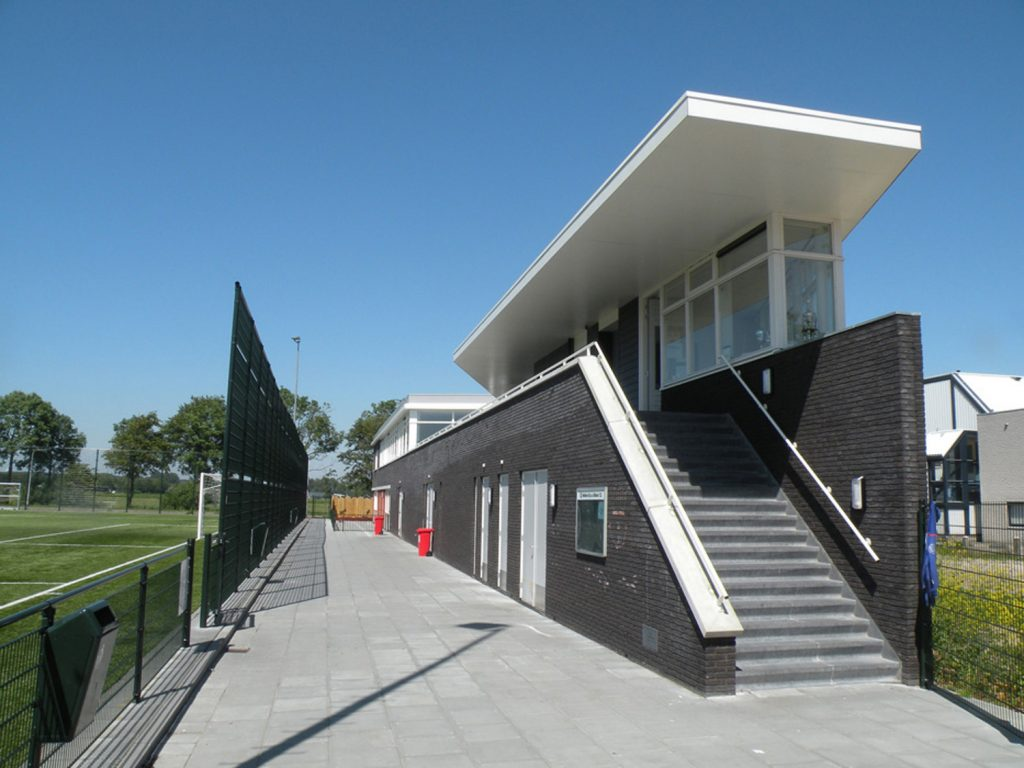 clubgebouw voetbalvereniging, clubhuis